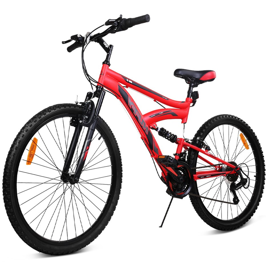 Huffy 26 Inch 66cm Mountain Bike Suspension Unisex Bicycle Shimano