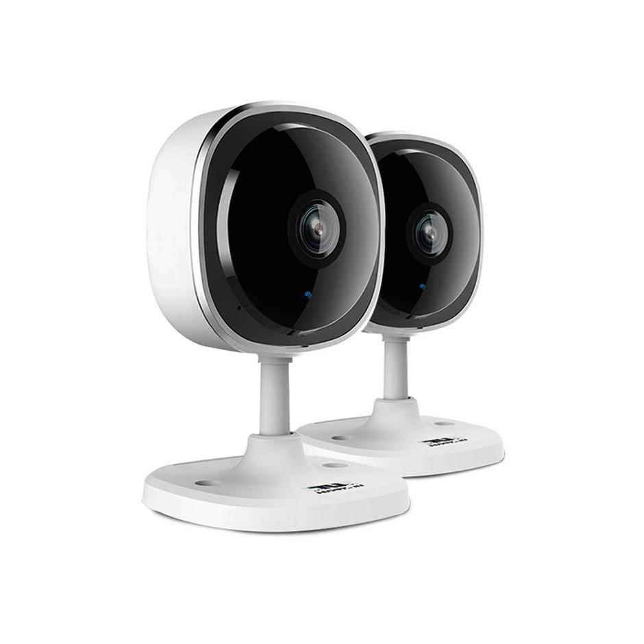 UL-TECH 1080P X2 Wireless IP Eye Camera CCTV Security Baby Monitor White