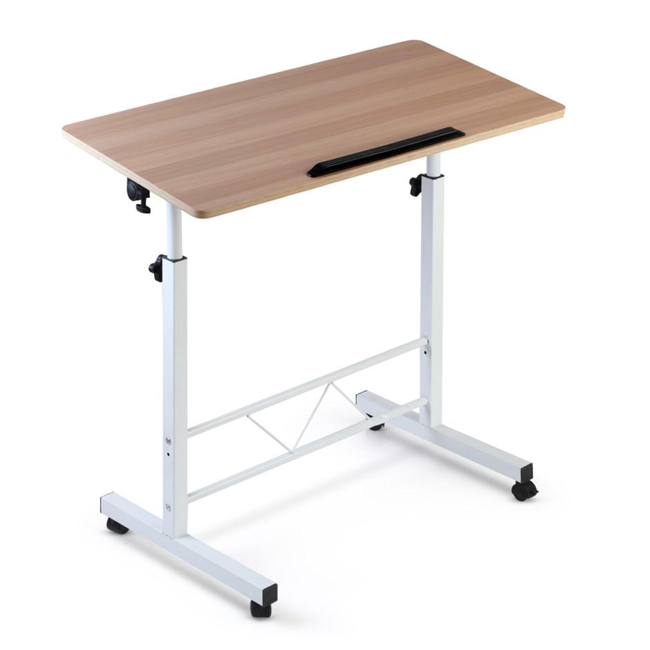 Portable Mobile Laptop Desk Computer PC Tilt Table Stand