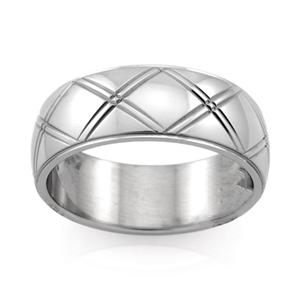 Stainless Steel Ring - Ring Size : Y