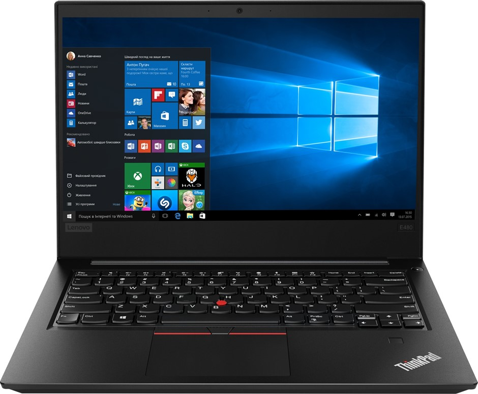 """Lenovo ThinkPad E485 14"""" FHD/AMD Ryzen 5 2500U/8GB/128GB NVMe SSD/Win10"""