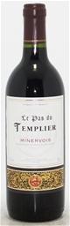 Le Pas Du templier Minervois NV (6 x 750mL) Languedoc-Roussillon, Cork