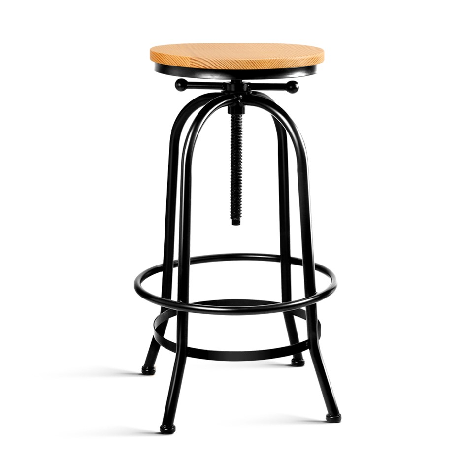 Artiss Vintage Stool Retro Barstools Dining Chair