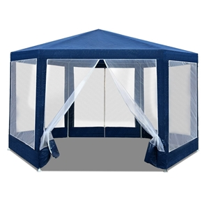 Instahut Wedding Gazebo Net Party Tent M