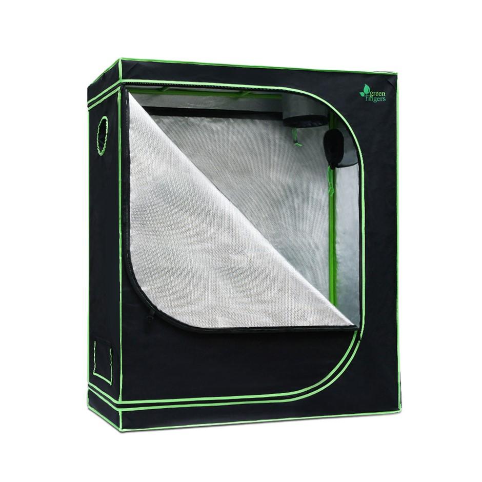 Greenfingers 120 x 60 x 120cm Grow Tent Hydroponics Plant Tarp Shelves Kit
