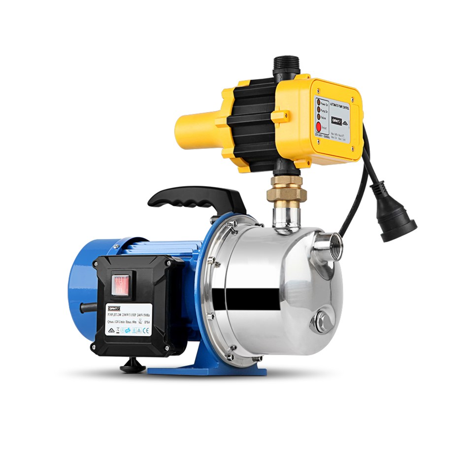Giantz High-Pressure Jet Water Pump Controller Garden Irrigation 72000L/H