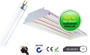 54 x Linear High Bay Fluorescent Lightin