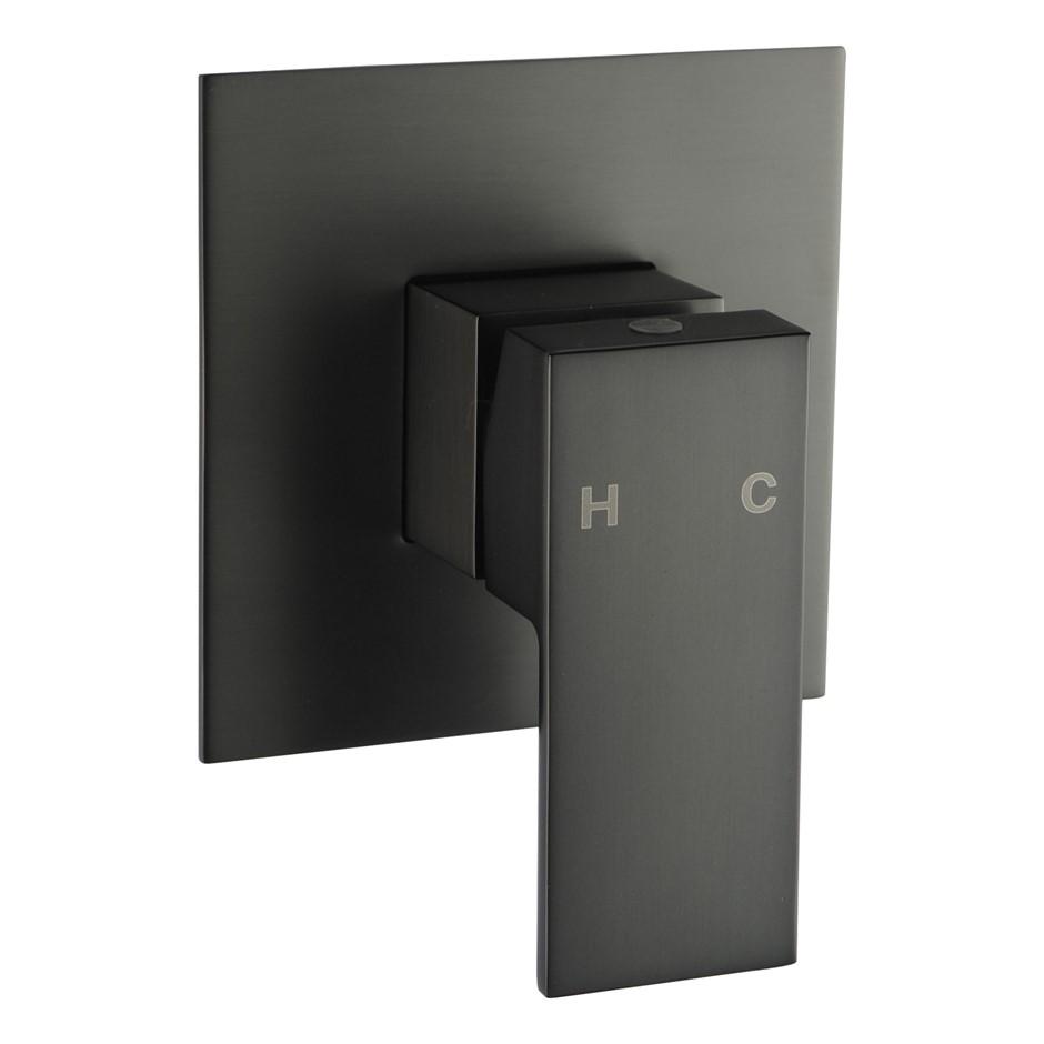 Gunmetal Grey Shower Wall Mixer