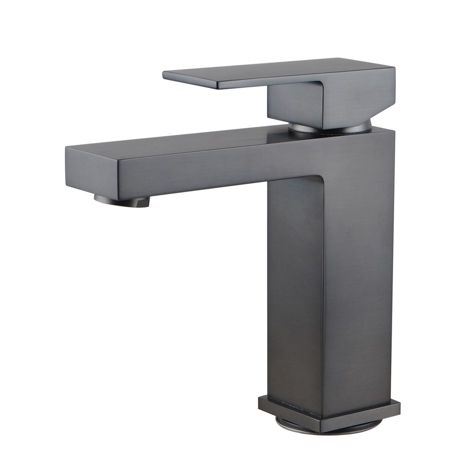 Gunmetal Grey Basin Mixer Tap