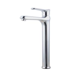 Bathroom Brass Chrome Tall Basin Mixer T