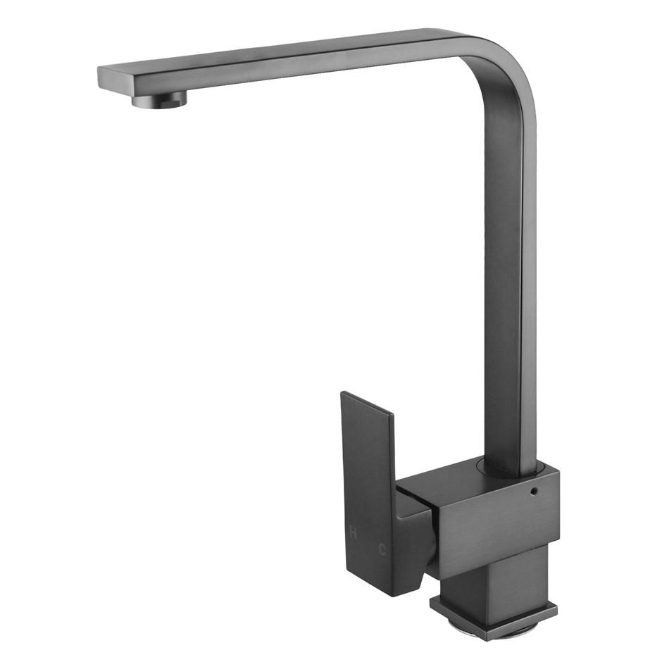 Gunmetal Grey Kitchen Sink Mixer Tap