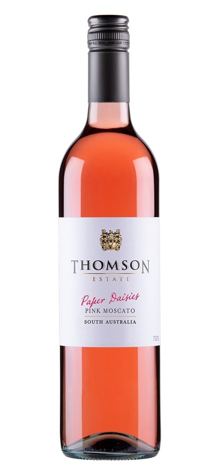 Thomson Estate Paper Daisies Pink Moscato 2018 (12 x 750ml) SA