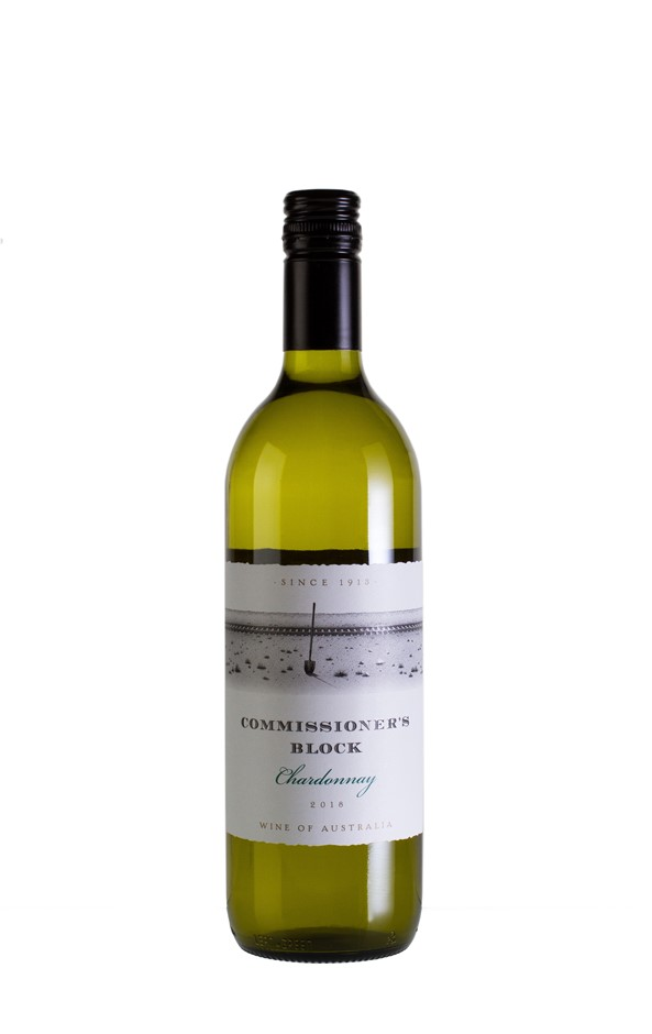 Commissioners Block Chardonnay 2018 (12 x 750mL) SEA