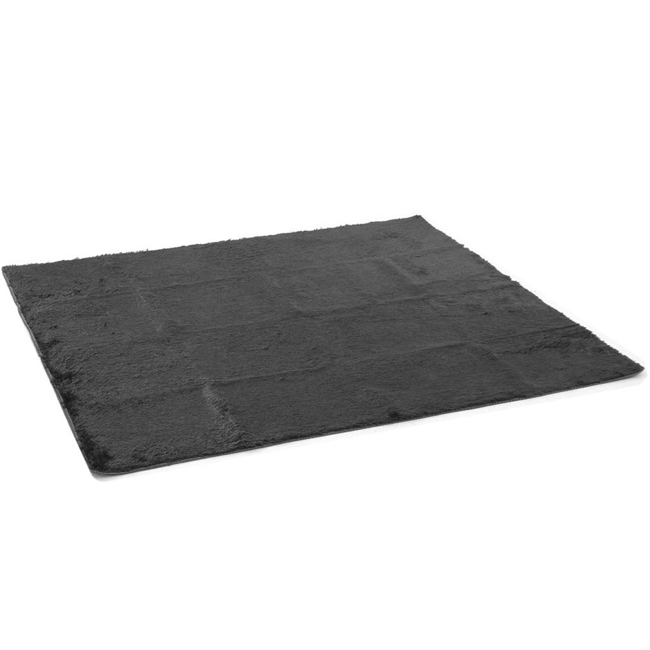 Artiss Soft Shaggy Rug Large 200x230cm Floor Carpet Anti-slip Rugs Black