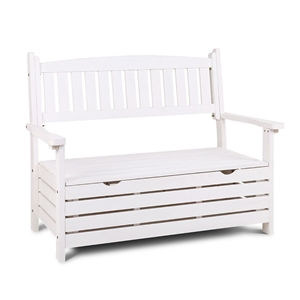 Gardeon Outdoor Storage Bench Box Wooden
