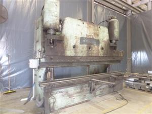 1956 Pacific 300 TON Hydraulic Press Brake Metal Bender