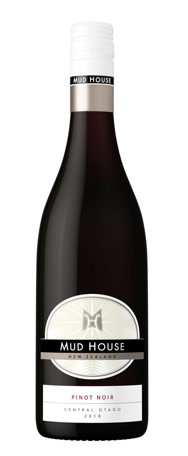Mud House Pinot Noir 2018 (6 x 750mL), Central Otago, NZ.