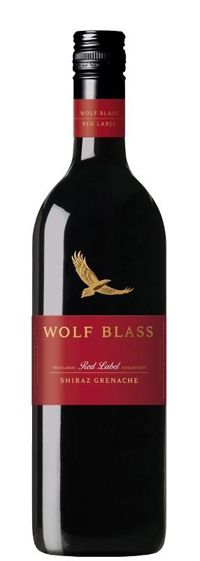 Wolf Blass `Red Label` Shiarz Grenache 2017 (6 x 750mL), SE AUS.