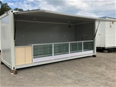 Brand New Portable Container Shop/Kiosk Display Building