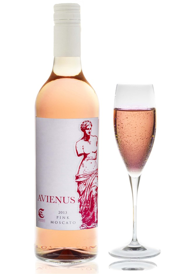 Avienus Pink Moscato NV (12 x 750mL) SEA