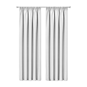 Artqueen 2x Pinch Blockout Curtains Room
