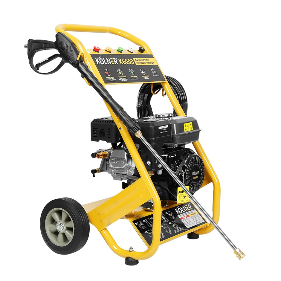 Kolner 6000 8HP 4800psi Petrol Engine High Pressure Washer