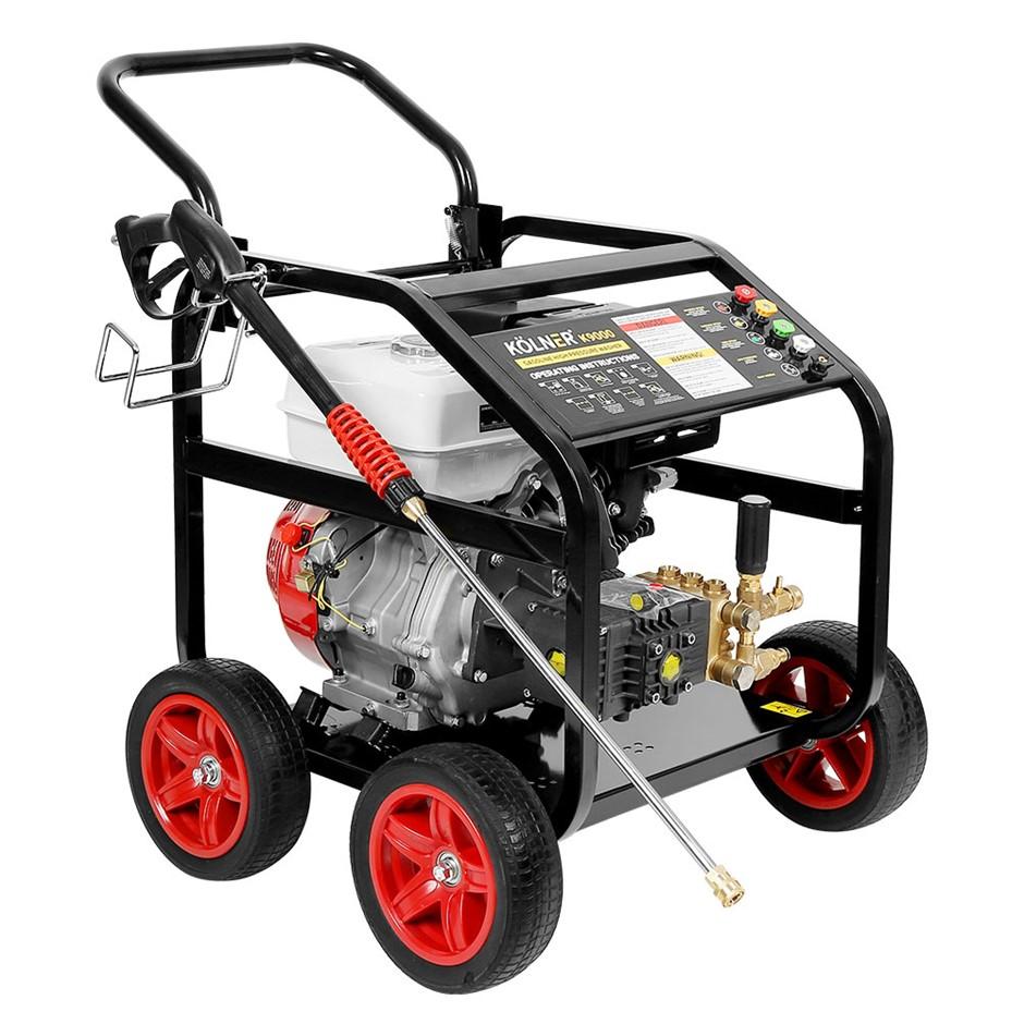 Kolner 9000 389cc 5000psi Petrol Engine High Pressure Washer 20m Hose