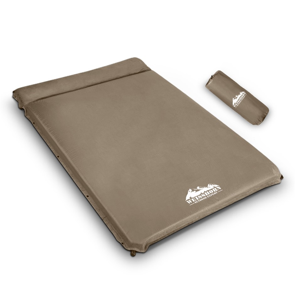 WEISSHORN Double Self inflating Mattress Mat