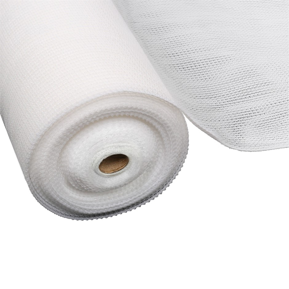 Instahut 1.83x30m 50% UV Shade Cloth Outdoor White