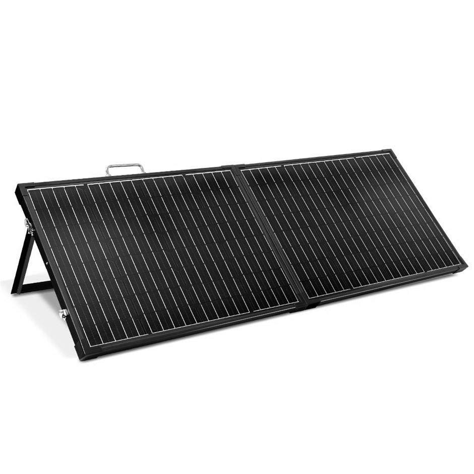 12V 200W Folding Solar Panel Kit Mono Caravan Boat