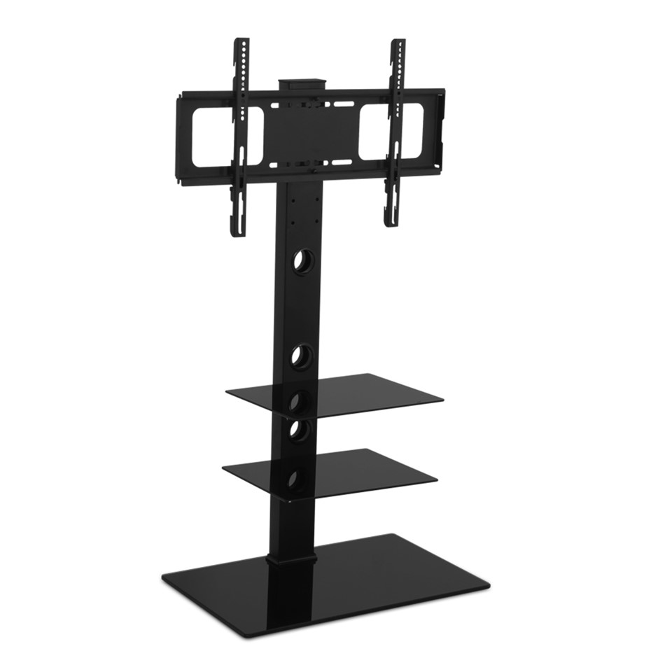 Artiss Floor TV Stand Height Adjustable 32 to 70 Inch Black