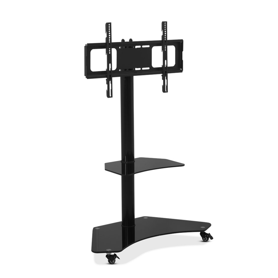 Artiss Floor TV Stand Brakcket Mount Swivel Adjustable 32 to 70 Inch Black