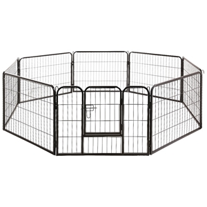 8 Panel Dog Pet Playpen Puppy Metal Play