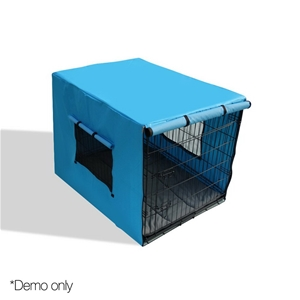 i.Pet 48inch Collapsible Pet Cage with C