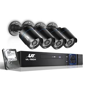 UL Tech 720P 4 Channel HDMI CCTV Securit