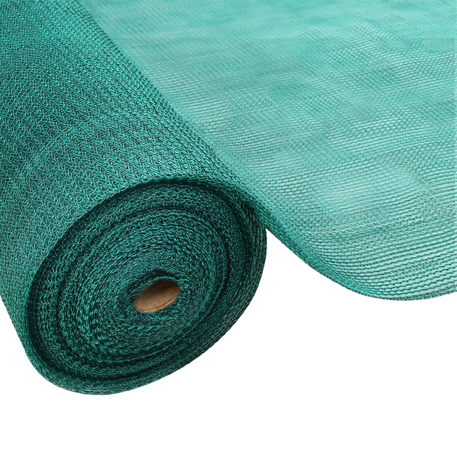 Instahut 3.66x30m 50% UV Shade Cloth Outdoor Green