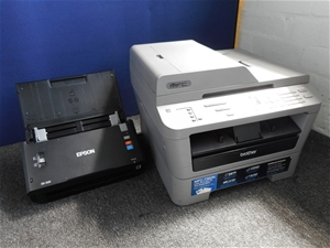 Bulk Lot Of Assorted Printer/ Scanner