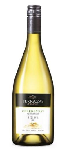 Terrazas De Los Andes Reserva Chardonnay 2017 6 X 750ml Argentina