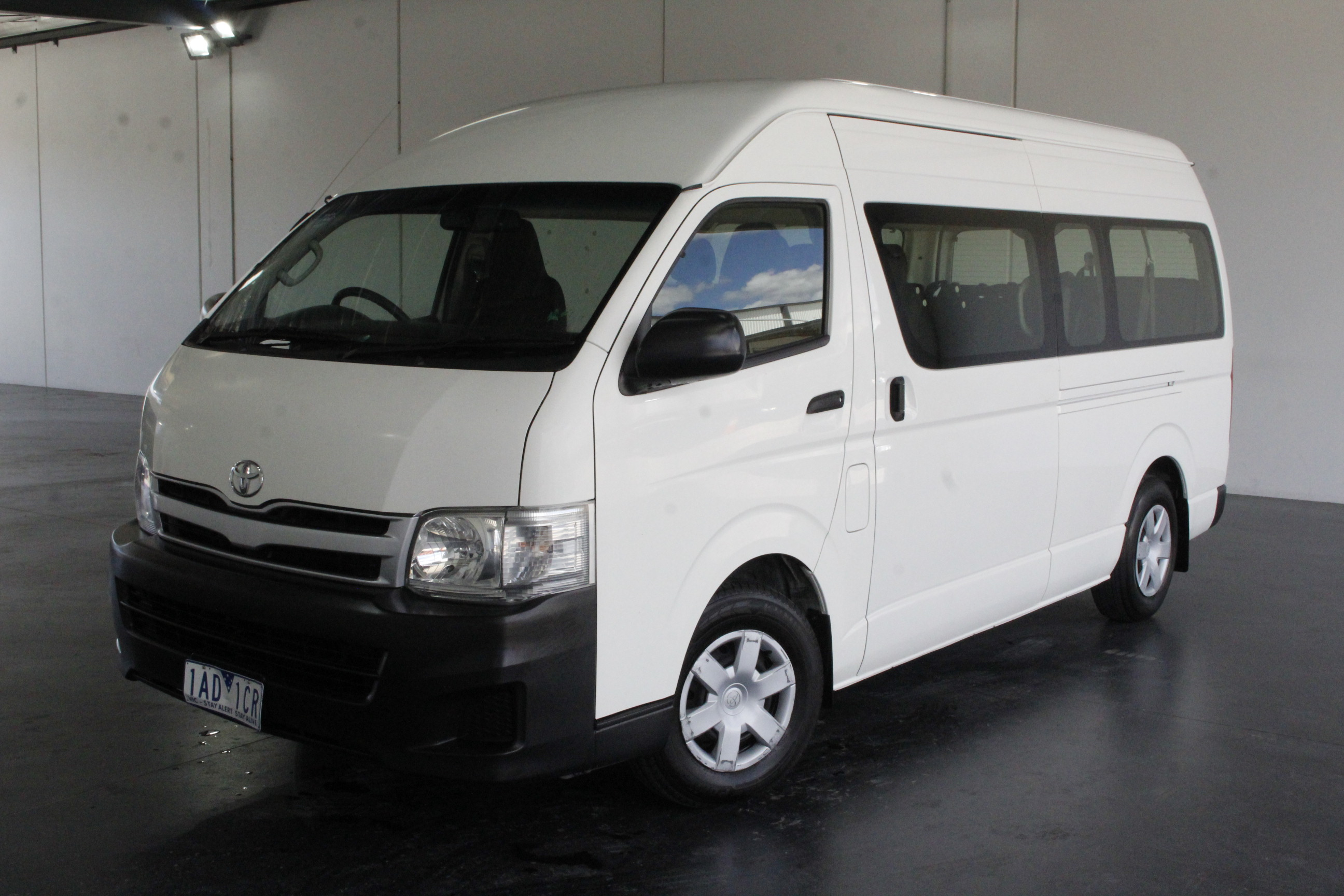c0fdc5294b 2013 Toyota Hiace Commuter KDH223R Turbo Diesel Automatic 12 Seats Bus  Auction (0001-3439975)