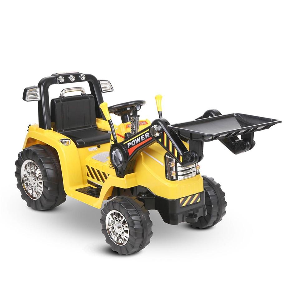 Rigo Kids Ride On Bulldozer - Yellow