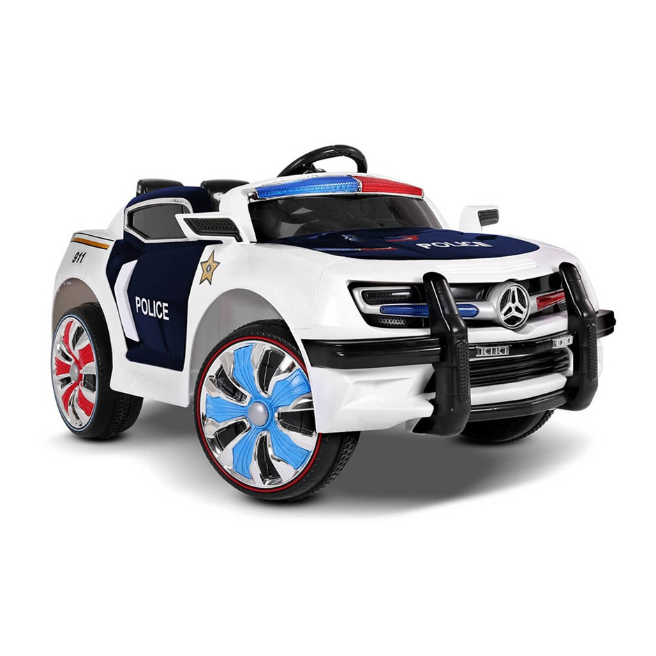 Rigo Kids Ride On Car - Black & White