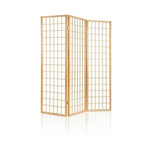 Artiss 3 Panel Wooden Room Divider - Nat