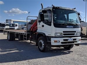 2007 Isuzu FTR 900 Long 4 x 2 Tray Body Truck