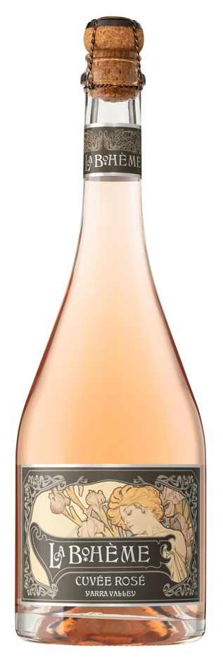 De Bortoli `La Boheme` Cuvee Rose NV (6 x 750mL), Yarra Valley, VIC.