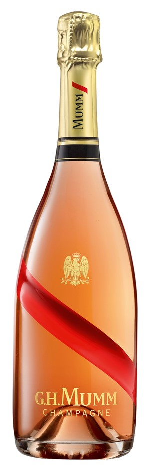 G. H. Mumm `Cordon Rouge` Champagne Rosé NV (6 x750mL), France.