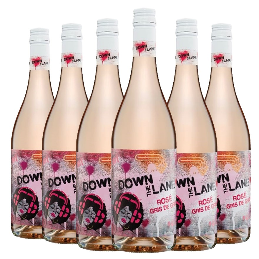 De Bortoli Down the Lane Rose Gris de gris 2017 (6 x 750mL) Riverina