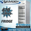 Unused SINGLE DOOR DISPLAY FRIDGE 670L - MCC01-GL