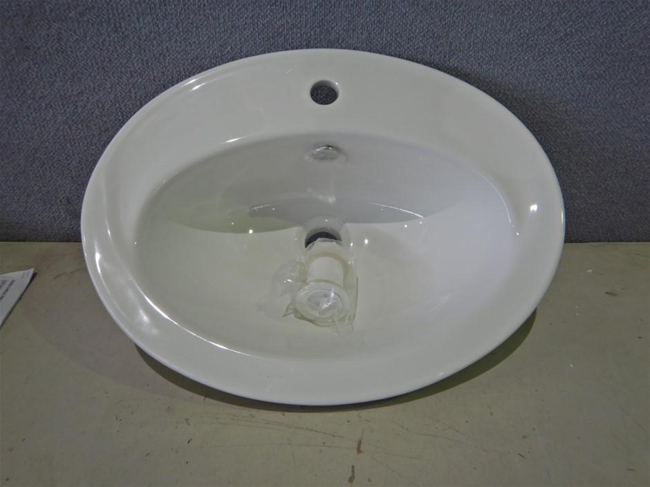 Qty 5 x Gallery Vitreous China Vanity basins (Pooraka, SA)