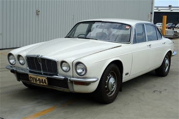 Unreserved 1974 V12 Jaguar XJ12