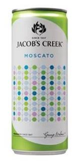 Jacob's Creek Moscato NV Cans (24 x 250mL) AU